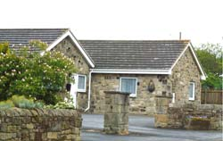 The Front of The Willows Cottage, Northumberland